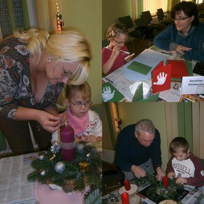 Foto zur Meldung: Adventseröffnung bei den Reh-Kids