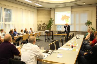 Foto zur Meldung: 14. Arbeitskreissitzung Thema: Bioenergie