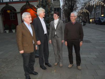 Foto zu Meldung: 25-jähriges Jubiläum der Städtepartnerschaft Nienburg (Saale) und Nienburg/Weser