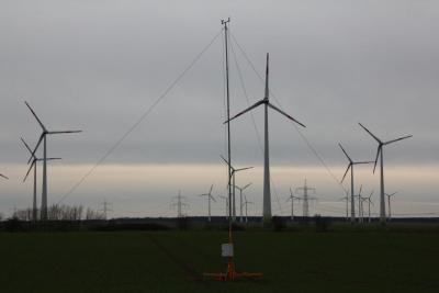 Foto zur Meldung: Schallmessungen im Windeignungsfeld 26