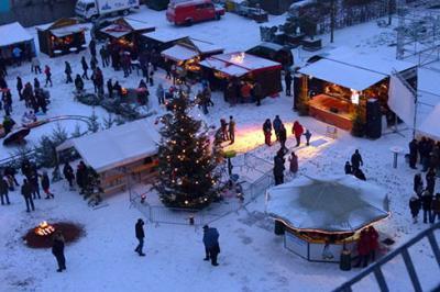 Foto zur Meldung: Mühlenweihnacht im Optikpark Rathenow