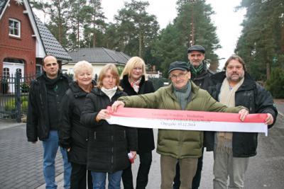 Foto zur Meldung: Ein schönes vorweihnachtliches Geschenk: Neu ausgebaute Straßen offiziell eingeweiht