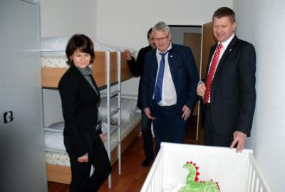 Foto zur Meldung: Wohnverbund Schipkau: Erste Bewohner beziehen ihr neues Zuhause auf Zeit