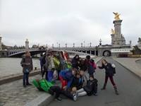 Vorschaubild zur Meldung: Die Klasse 6 B in Paris