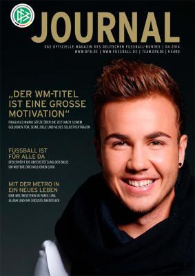 Foto zur Meldung: DFB-Journal 04/ 2014