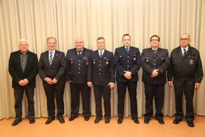 Foto zur Meldung: Kisselbacher Wehrführung neu ernannt