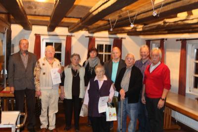 Foto zur Meldung: VdK Jubilare in Oberneisen geehrt