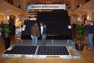 Foto zur Meldung: BEnW 2014 mit eigenem Stand beim 12. Solartag in Bückeburg
