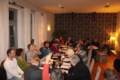 Foto zur Meldung: 9. Arbeitskreissitzung Thema: Gründungsversammlung Verein