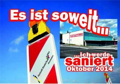 Foto zur Meldung: Streit um Großsporthalle in Rheinböllen beigelegt