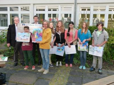 Foto zur Meldung: Puricelli-Realschuleplus Rheinböllen erfolgreich im 44. Internationalen Jugendwettbewerb der Volks- und Raiffeisenbanken