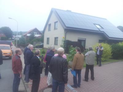 Foto zur Meldung: 6. Arbeitskreissitzung Thema: Photovoltaik