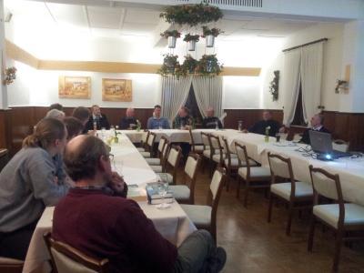 Foto zur Meldung: 1. Arbeitskreissitzung Thema: Konstituierung des Arbeitskreises