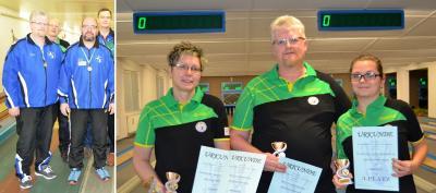 Foto zur Meldung: Mannschafts-Kreismeisterschaften im Kegeln