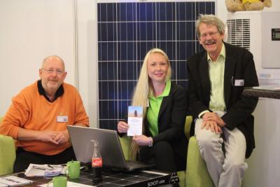 Foto zur Meldung: BEnW 2013 mit Stand auf Energiemesse