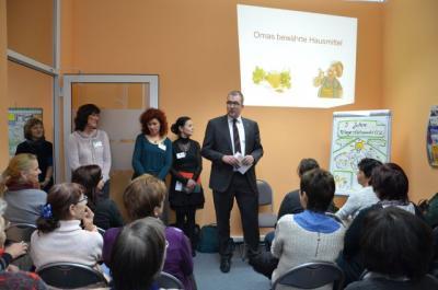 Foto zur Meldung: Herzlichen Glückwunsch! Pflegestützpunkt OSL feierte sein 5-jähriges Bestehen