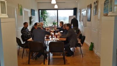 Foto zur Meldung: BEnW Technikertreffen zu WEA, SuedLink und Wasserkraft