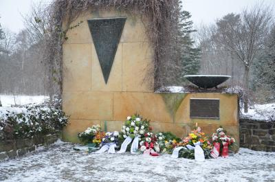 Foto zur Meldung: Gedenken an die Opfer des Holocaust
