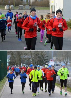 Foto zur Meldung: ZYKLIC- Haus Neujahrslauf - der gute Einstieg für die sportliche Zukunft