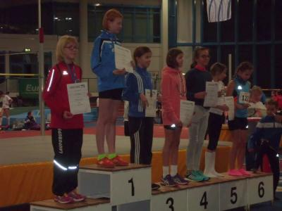 Foto zu Meldung: Joelina ist Vize-Landesmeisterin in der Halle