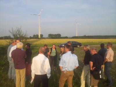 Foto zur Meldung: 5. Arbeitskreissitzung Thema: Windenergie