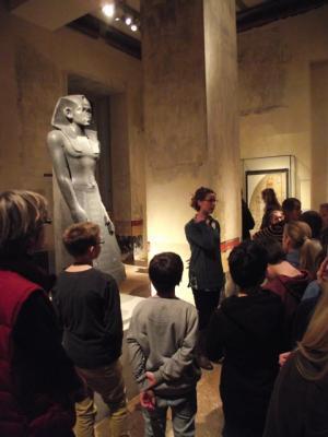 Foto zur Meldung: Hieroglyphen, Mumien & Co. – Ägyptenprojektwoche an der IGS