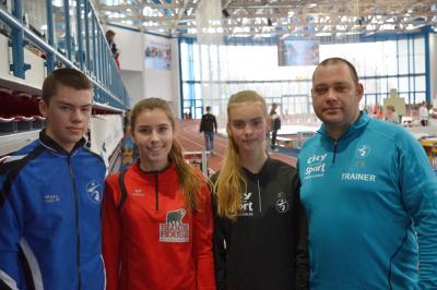 Foto zu Meldung: Landeshallenmeisterschaften der Jugendlichen