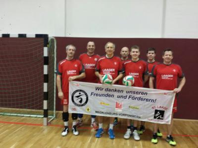 Foto zur Meldung: Volleyballer des SC Laage auf Tour