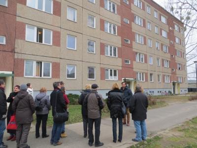 Bild der Meldung: Besuch des Flüchtlingsheimes in Neuhardenberg