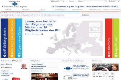 Foto zur Meldung: Neue deutsche Delegation im Europäischen Ausschuss der Regionen