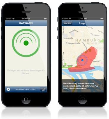 Vorschaubild zur Meldung: Landkreis Gießen startet Katastrophenwarnung auf Smartphone