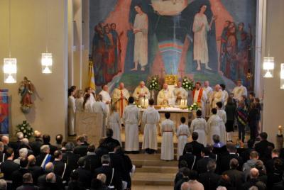Foto zur Meldung: Pfarrer Armin Haas feiert 25jähriges Priesterjubiläum