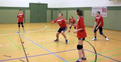 Foto zur Meldung: Wintersportfest der Volleyballer in Laage