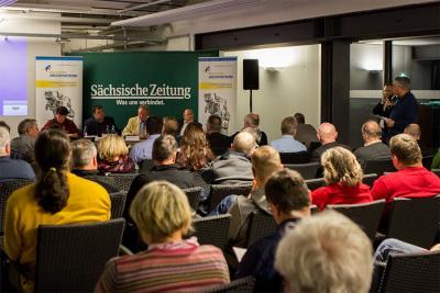 Foto zur Meldung: (Print-) Mediendialog in Löbau