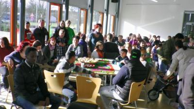 Volles Schipkauer Bürgerzentrum am 8. Februar