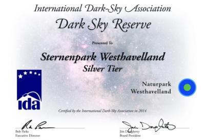 Foto zur Meldung: Sternenpark Westhavelland