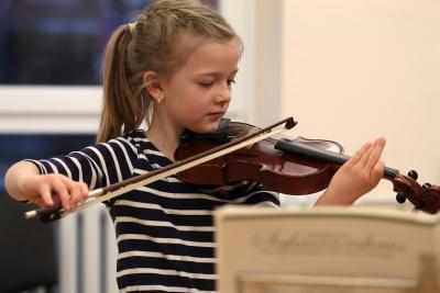 Foto zu Meldung: Musikschüler präsentieren eindrucksvolle Beiträge