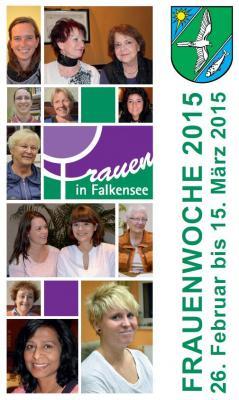 Titelblatt des Programmflyers zur Brandenburgischen Frauenwoche