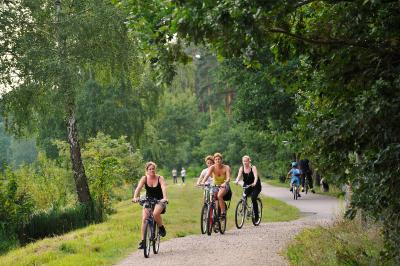 Foto zu Meldung: ADFC-Fahrradklima-Test 2014: Oranienburg im Land Brandenburg auf dem zweiten Platz