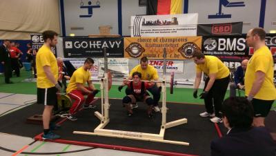 Foto zur Meldung: Deutsche Meisterschaften im Kraftdreikampf in Essen
