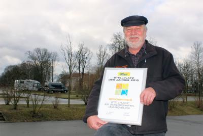 Foto zu Meldung: »promobil« verleiht Reisemobilstellplatz Sonderpreis in Gold