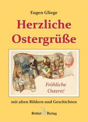 Foto zur Meldung: Pressezeichner Eugen Gliege mit Buch zum Osterfest