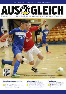 """Foto zur Meldung: FSA-Magazin """"AUSGLEICH"""" Ausgabe 01/ 2015 erschienen"""