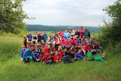Foto zur Meldung: Hockeyferiencamp 2015 in Straußberg/Thüringen