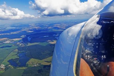 Foto zur Meldung: Rundflugangebote zur BUGA