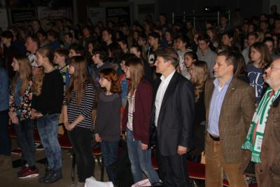 Foto zur Meldung: Fairfuture II Multivision im Ratsgymnasium
