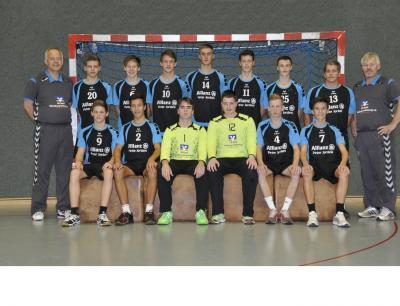 Foto zur Meldung: Oberliga HH / SH   mJB   MTV Lübeck I  -  TSV Sieverstedt I  29 : 26