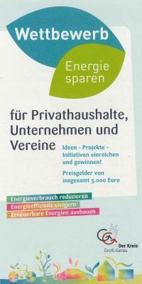 Foto zu Meldung: Energie sparen - Preisgelder von insgesamt 5000 Euro locken beim Wettbewerb des Kreises Groß-Gerau