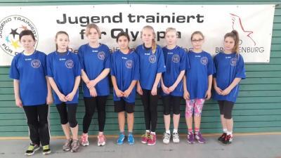 Foto zu Meldung: Regionalfinale WK IV Mädchen in Potsdam