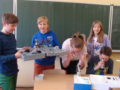 Foto zu Meldung: Biologie in der 6. Klasse